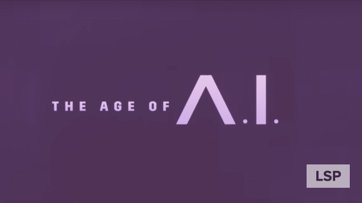 Cabecera de la serie documental de YouTube: The Age of A.I.