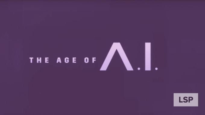 Cabecera de la serie documental de YouTube: The Age of A.I.